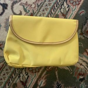 Yellow Nordstrom Cosmetic Bag